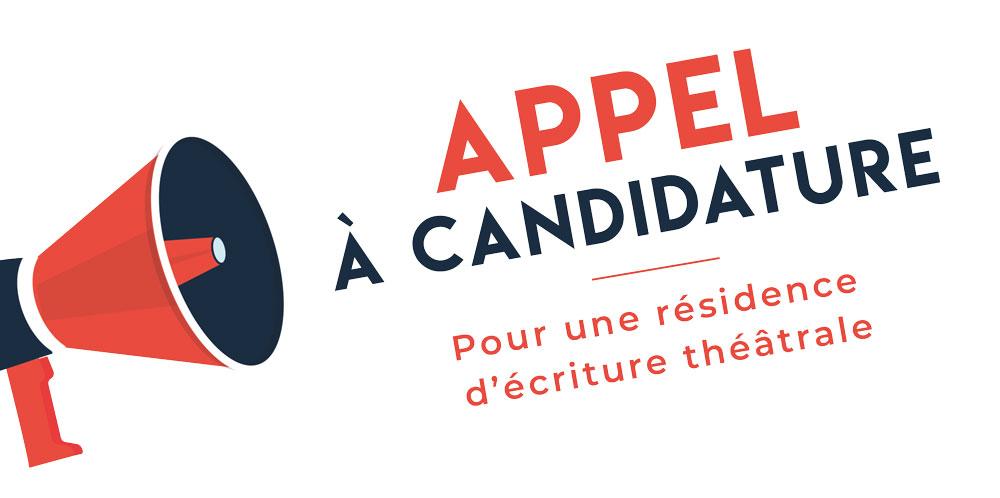 Appel à candidature – Résidence d'écriture théâtrale en avril 2021